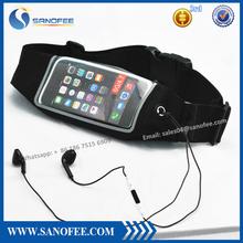 alibaba china elastic running belt for iPhone 6 bag waist running