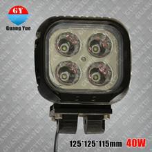 12v 4000lm high beam 40w led work light ,40w portable led 12v work lights