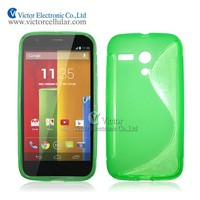 Guangzhou supplier S line tpu case cover for Moto G
