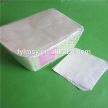 12.6x12.6in 1/4 pliage 2 plis serviette en papier