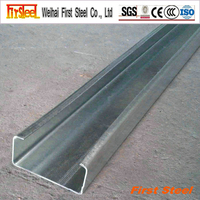 High quality factory producing c channel steel dimensions