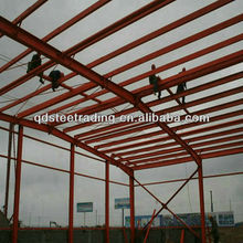 china low cost steel structure workshop