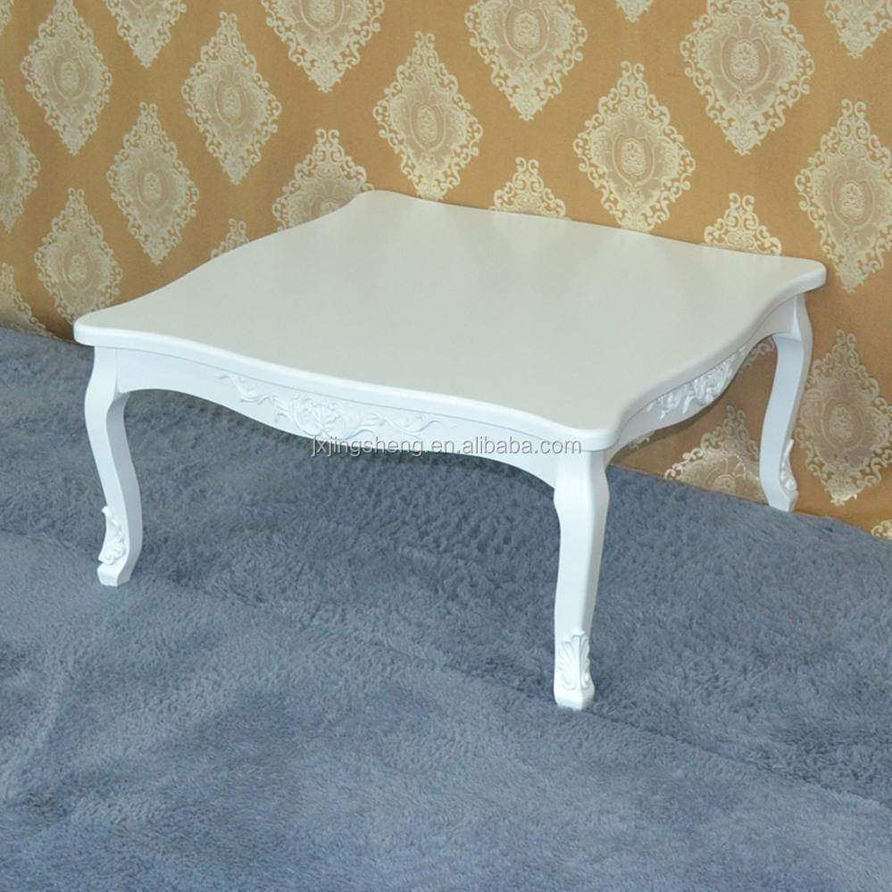 Meubles En Bois Shabby Chic Moderne Blanc Oem Table Basse