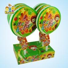 EN-068 flat mega lollipop candy