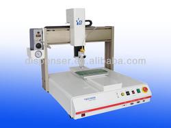good reputation manufacturer 3 axis glue machine for photo album