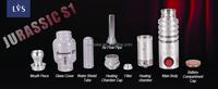 2015 LVSMOKE latest JURASSIC S1 herbal vaporiser dry herb vaporizer dry herb pen