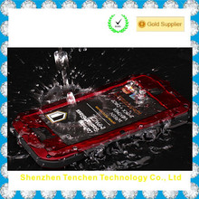 China Supplier Gorilla Glass Waterproof Mobile Phone Case for iPhone 5