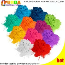 Electrostatic Thermosetting Powder Coating Colors