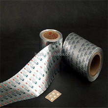 High Quality pharma aluminum foil blister roll/aluminum foil blister roll pharma