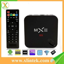 amlogic s802 quad core 2.0G MXIII android TV box 2gb ram 8gb flash up to 1080p android tv box