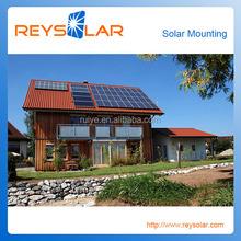 pv solar module slanted tile roof aluminum mount/bracket/al solar energy racking system