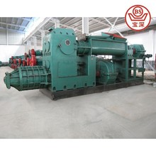 Automatic red solid logo clay brick making machine with tunnel kiln design and hoffman kiln for hollow brick making plant JKY 60