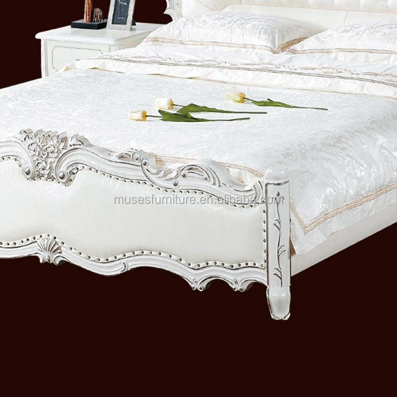 French Rococo Bed B8007 Buy French Rattan Bed French