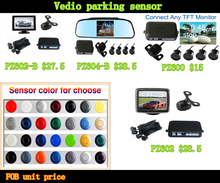 High Quality Digital TFT LCD Screen Car parking sensor system suit for all cars