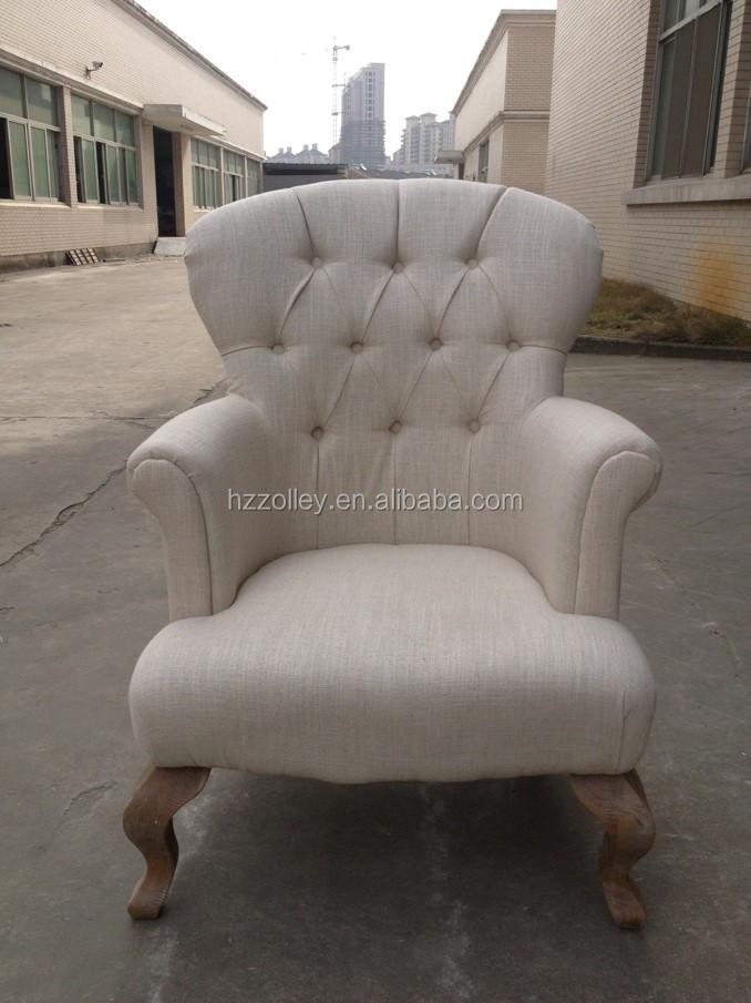 Vistoso Muebles De Cuero Blanco Silla De Acento Embellecimiento ...