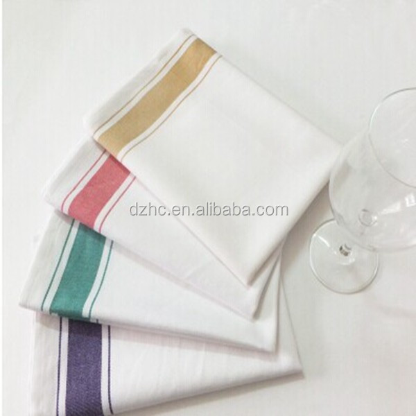 Plain White Cotton Kitchen Towels