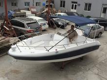 open fiberglass fishing boat cruising boat racing boat