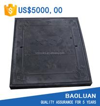 [BAOLUAN]square fiberglass manhole cover d400 en124 british standard hot sale