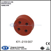 4 way waterproof Round Silicon Rubber Gasket