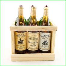 Wooden Holder for 6 Wine Glasses Wine Racks
