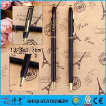 Promotion logo print souvenir gift metal ball pen