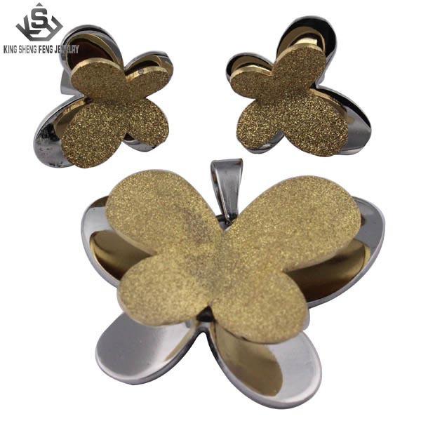 316l joyas de acero inoxidable joyería de moda juegos para las mujeres al por mayor proveedor