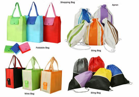 Custom cheap cotton polyester drawstring bag
