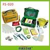 Professional cheap triangle warning nylon emergency car safety kit