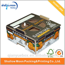 multi-layer custom cardboard fruit carton box banana pear