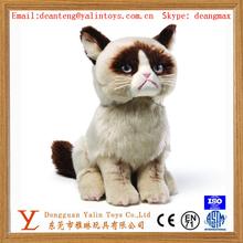 High quality super soft toys plush cat