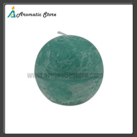 Decorative Fruit Round Ball Scented Candle