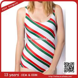 china supplier custom manufacturer sexy women stripe swimwear
