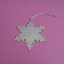 metal silver ornamentation for handbags, five stars handle badge plates custom handbag