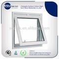 Fabricantes chinos profesionales de ventanas de aluminio blancas pintadas al polvo