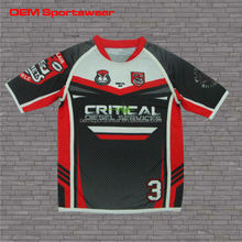 Professional sublimated rugby practice jerseys for baby