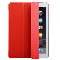 Folding function pu leather case for ipad air for ipad mini cover