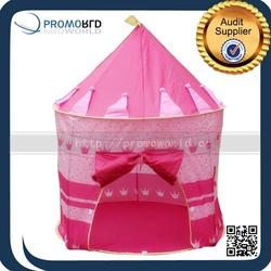 2015 Summer Outdoor Garden Pink Princess Castle Kids Play House