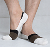 Casual short ankle invisible bamboo socks men /men's bamboo socks design