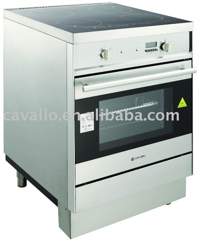 Horno el ctrico con cocina de inducci n hornos for Cocinas con horno electrico