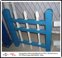 Alibaba supplier wholesale galvanized iron fence for workshop ZX-XGHL26