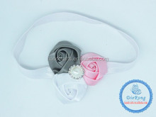 top baby infant flower elastic headband
