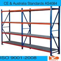 Warehouse long span shelving