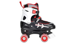 (2015) new professional 4 size adjustable inline quad skate for kid with good quality