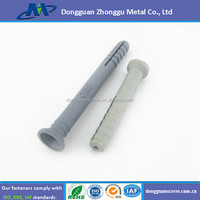 Nylon Wall Plug to Steel Nail screw