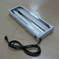 T5 Grow light Fixtures greenhouses used for sale / T5 HO Fluorescent lamp fixture 24w/54w 2ft/4ft 4bulbs/8bulbs