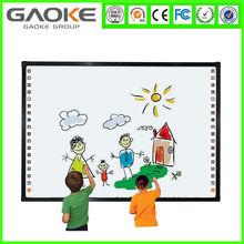 Multiuser white digital board for school world-class quality 100inch wall mounting iwb ir multi touch smart board