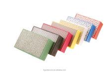 75*75mm and 90*55mm abrasive sanding sponges wet or dry grinding