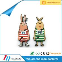 2015 Hot Selling High Quality 3D Custom Soft Pvc Rubber Fridge Magnet