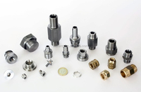 Brass threaded inserts and types of pipe joints