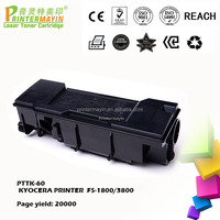Toner for Kyocera Taskalfa 1800 for use in KYOCERA PRINTER FS- 1800 / 3800 (PTTK-60)
